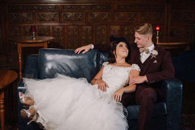 Rosy & Callan's Seaside Castle Wedding…