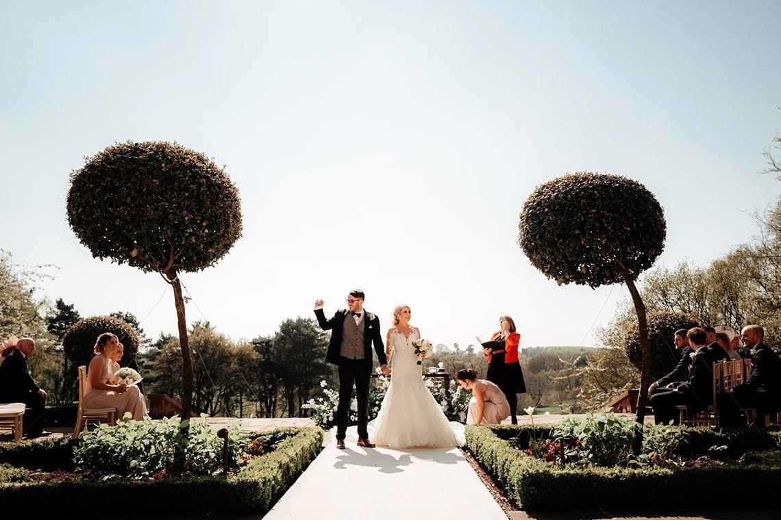 Laura & Mark's Romantic Cheshire Wedding…