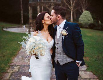Becki & Pete's Heavenly Hillbark Wedding…