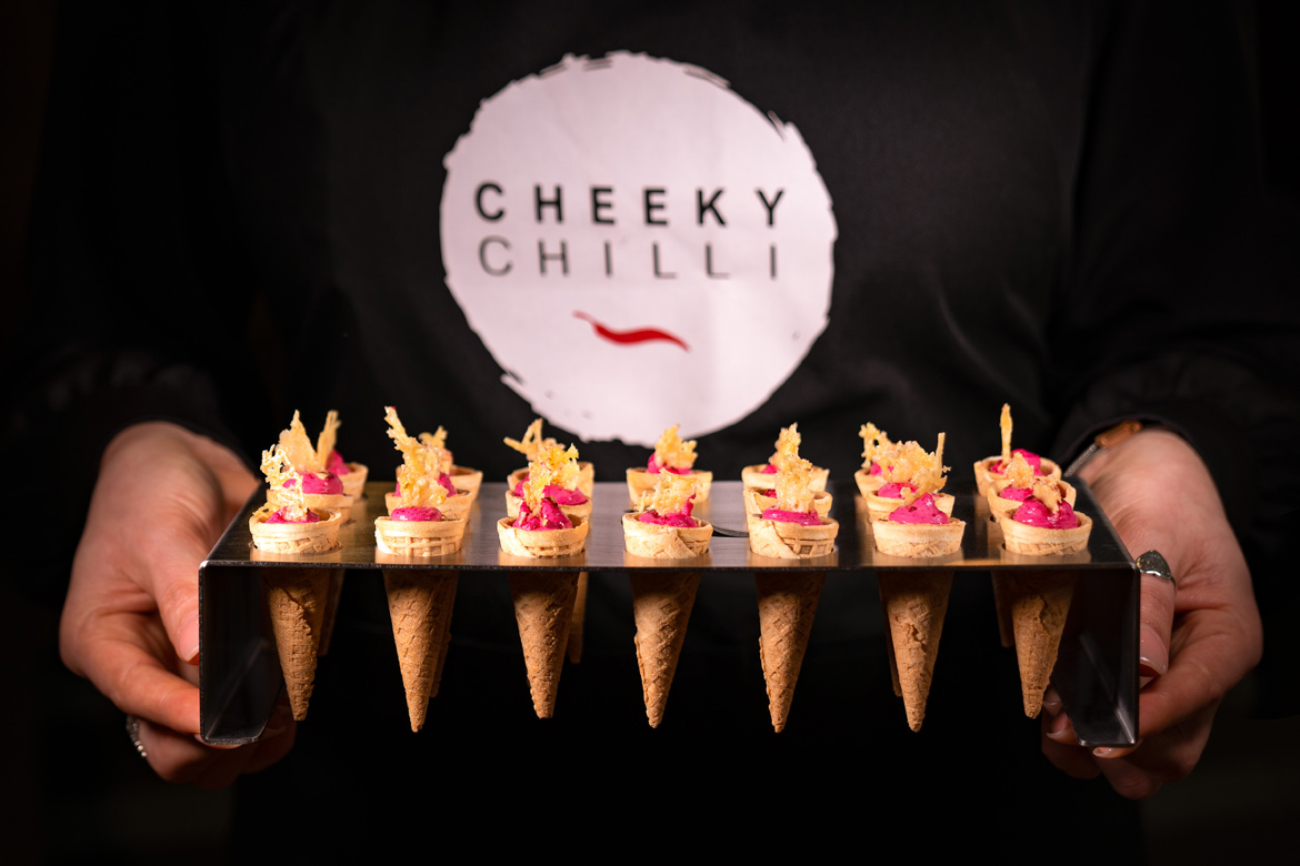 Catering With A 'Cheeky' Touch