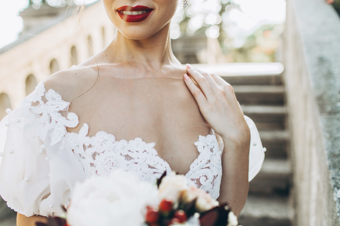 Top 5 Red Lipsticks For The Brave Bride