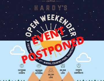 The Big Tipi of Love Open Weekender Postponed